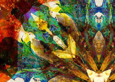 Earth Healing mandala detail