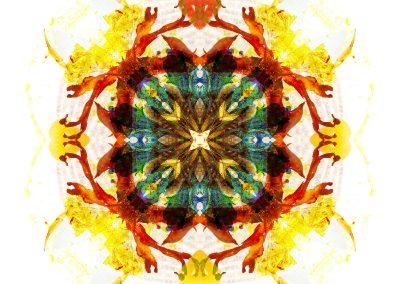 Earth Healing mandala full image